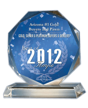 awards and recognition, tempe pawn and gold