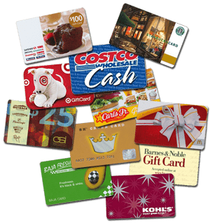 sell gift cards tempe, scottsdale, mesa, chandler, sell gift cards