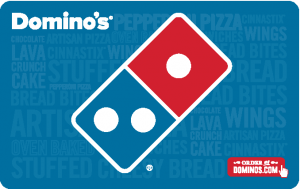Sell Gift Cards Tempe - Dominos