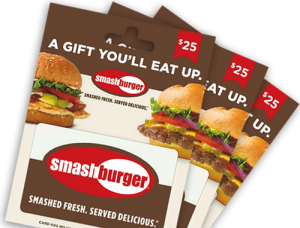 Sell Gift Cards Tempe - Smash Burger